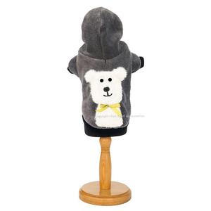 Ice Bear Hooded Dog Pullover