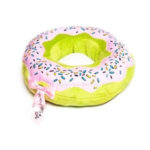 Macaroon Green With Strawberry Dog Bed