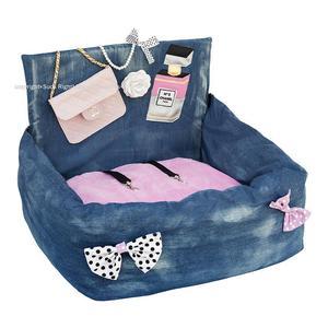 Pink Chanel Driving Kit Dog Car Seat
