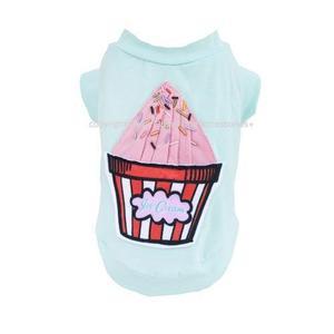 Retro Ice Cream Dog Shirt