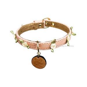 Small Roses Dog Collar