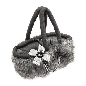 Tiger Lily Basket Bag Dog Carrier