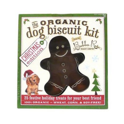 Organic Dog Biscuit Cookbook Kit - Christmas Edition