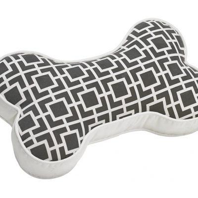 Sofa Toss Pillow Courtyard Grey One Size
