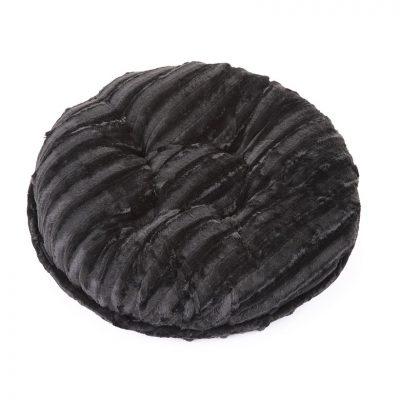 Black Mink Bagel Bed