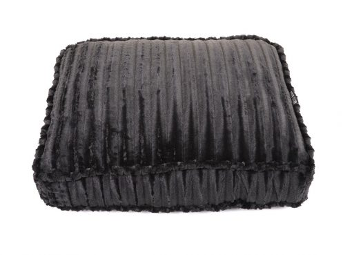 Black Mink Rectangle Bed