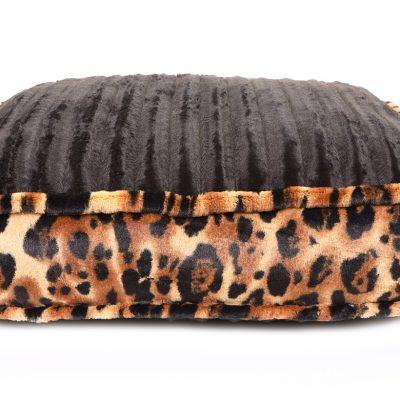 Black Mink & Big Cat Rectangle Bed