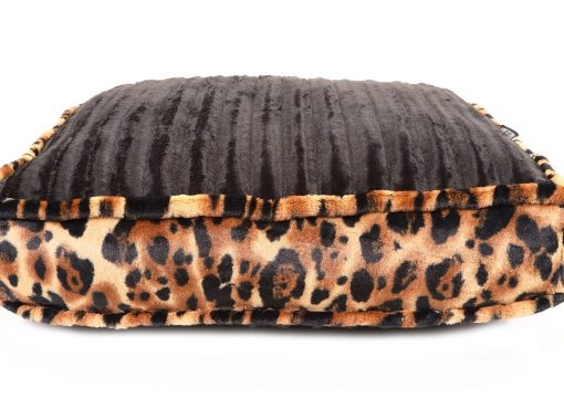 Black Mink & Big Cat Rectangle Bed