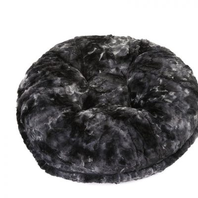 Grey Rabbit Bagel Bed