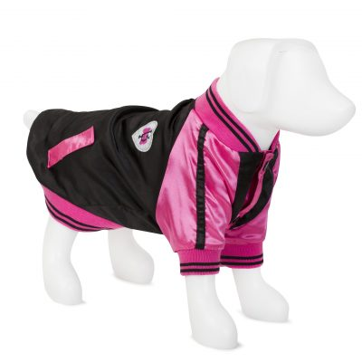 F&R for VP Pets Windbreaker Baseball Jacket - Pink