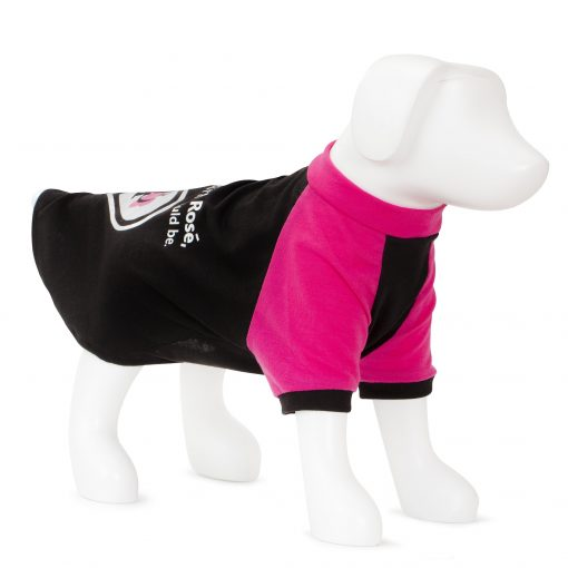 F&R for VP Pets Slogan Tee - Pink/Black