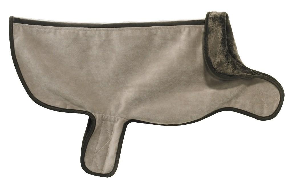 Designer Dog Coat Taupe