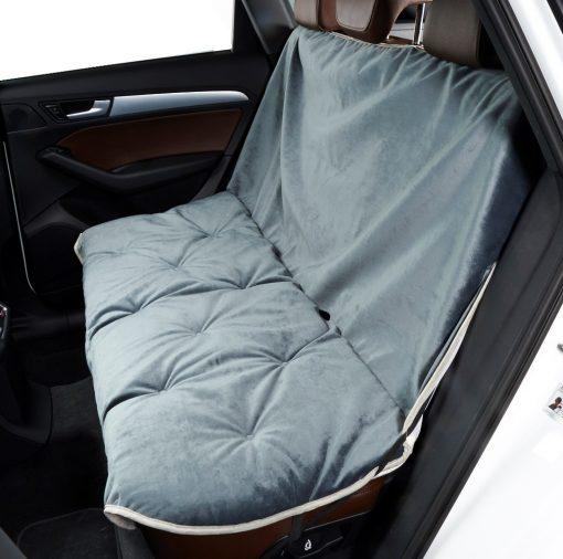 Back Seat Cover Elephant Blue