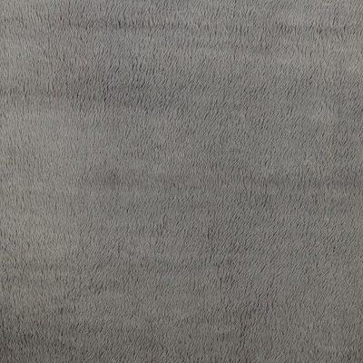 Fabric by the Yard Grey Teddy