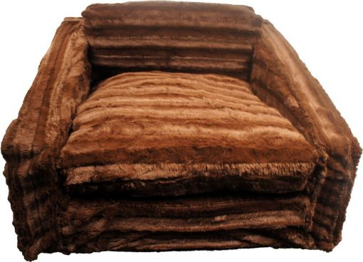 Chocolate Mink Sofa Bed