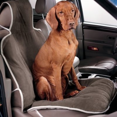 Single Seat Cover Taupe