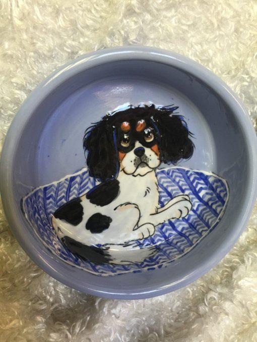 King Charles Cavalier Dog Bowl
