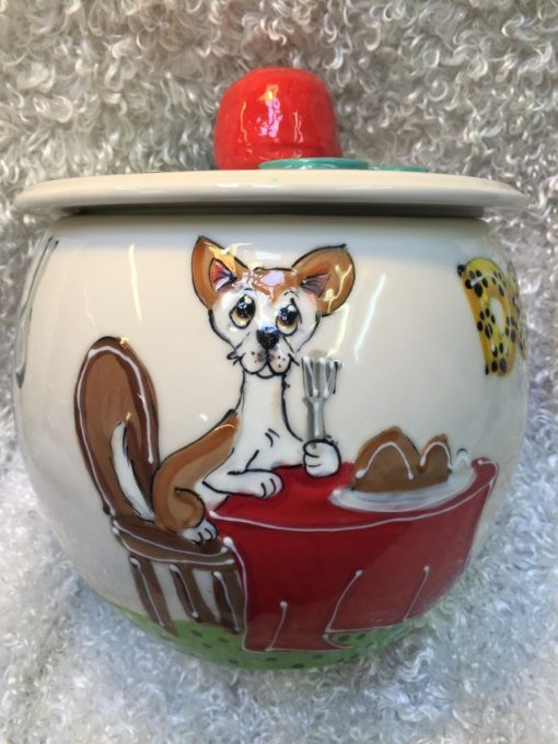 Chihuahua Treat Jar