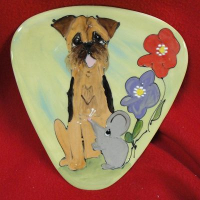 Border Terrier Dog Trophy