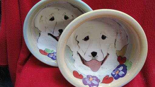 Great Pyrenees Dog Bowl