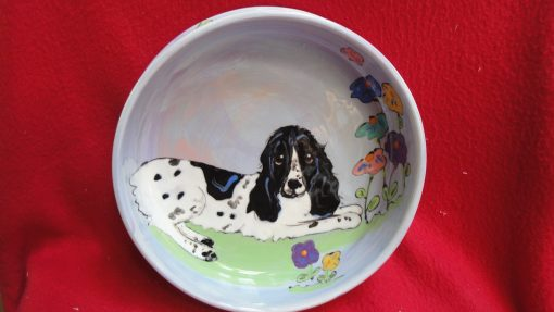 Springer Spaniel Dog Bowl