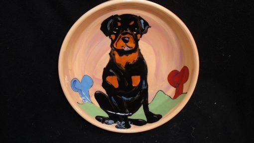 Rottweiler Dog Bowl