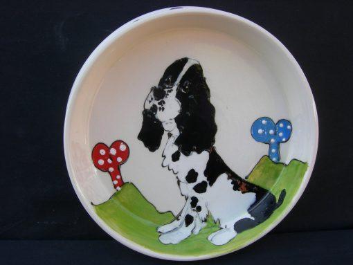 English Springer Spaniel Dog Bowl