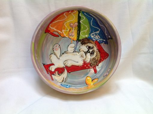 Shih Tzu Dog Bowl