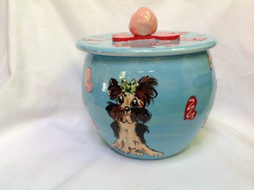 Yorkie Treat Jar