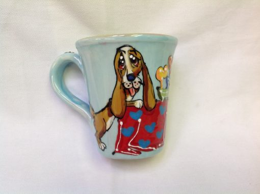 Bassett Hound Mugs and Tall Lattes