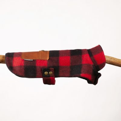 Red Buffalo Plaid Wool Pocket Jacket