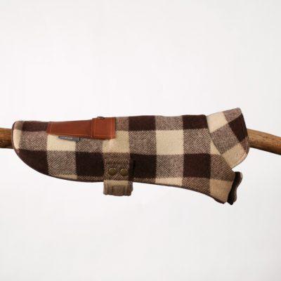 Brown Check Pocket Jacket