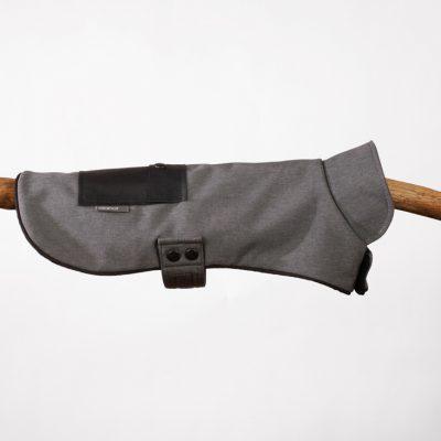 Grey & Black Neoprene Pocket Jacket