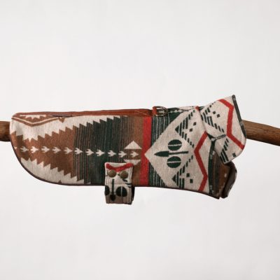 Red Tribal Cape Jacket