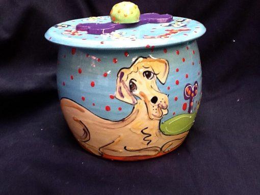 Great Dane Treat Jar