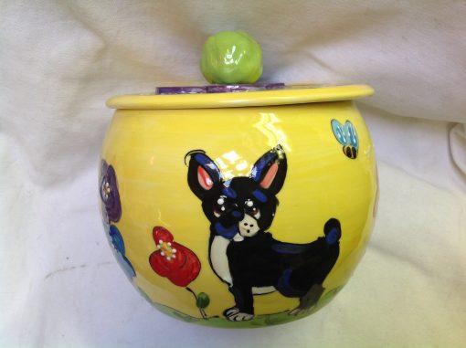 Boston Terrier Treat Jar