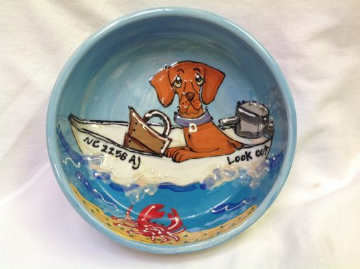 Hungarian Vizsla Dog Bowl