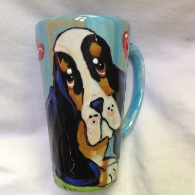 Bassett Hound Mugs and Tall Lattes