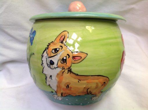 Corgi Treat Jar
