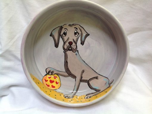 Weimeraner Dog Bowl