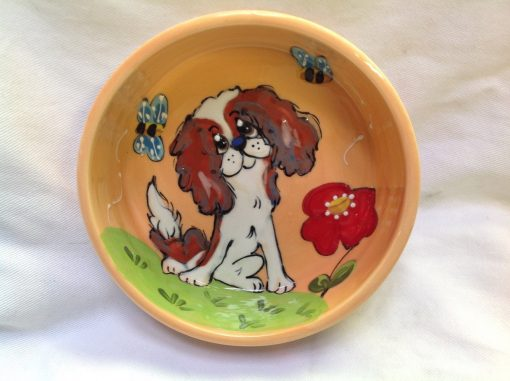 King Charles Cavalier Dog Bowl