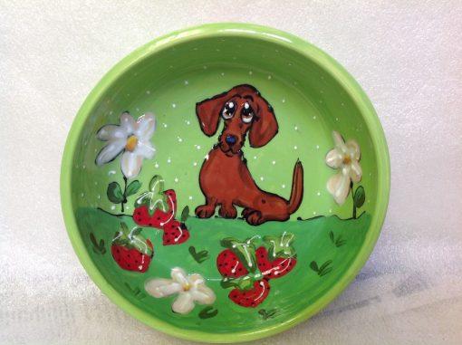 Dachshund Dog Bowl