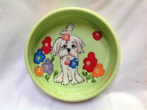 Havanese Dog Bowl