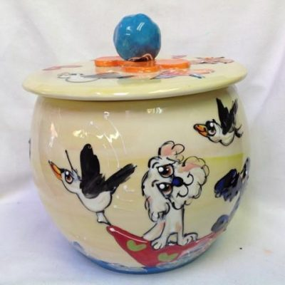 Bichon Treat Jar