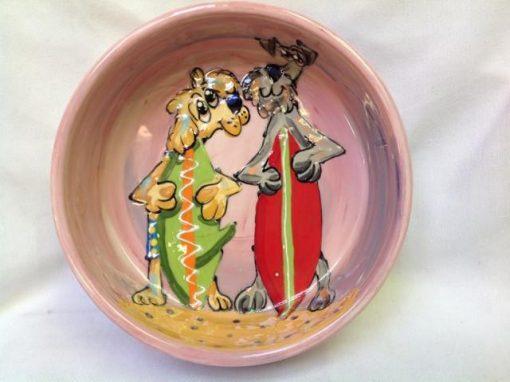 Schnauzer Dog Bowl