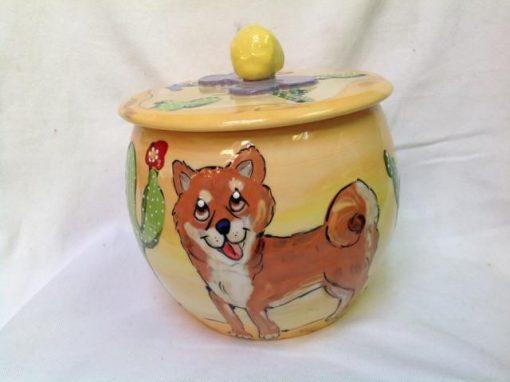 Sheba Inu Treat Jar