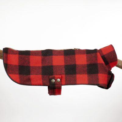 Red Buffalo Plaid Cape Jacket