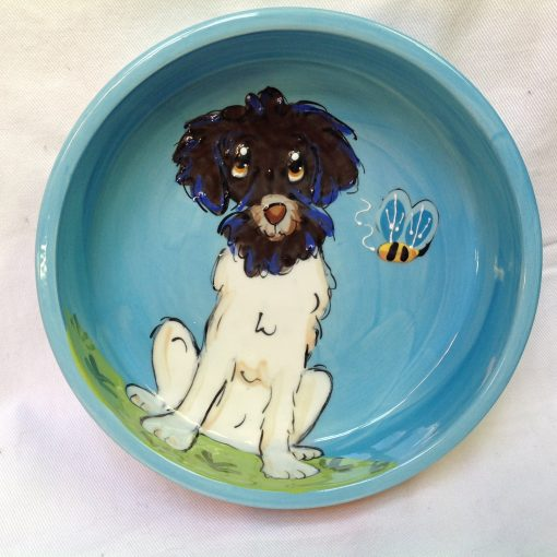 Portugese Waterdog Pet Bowl