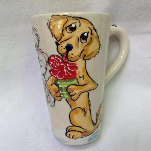 Labrador Mugs and Tall Lattes