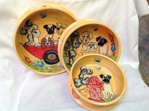 Poodle, Golden Retriever, Maltese, King Charles, Pug Dog Bowl